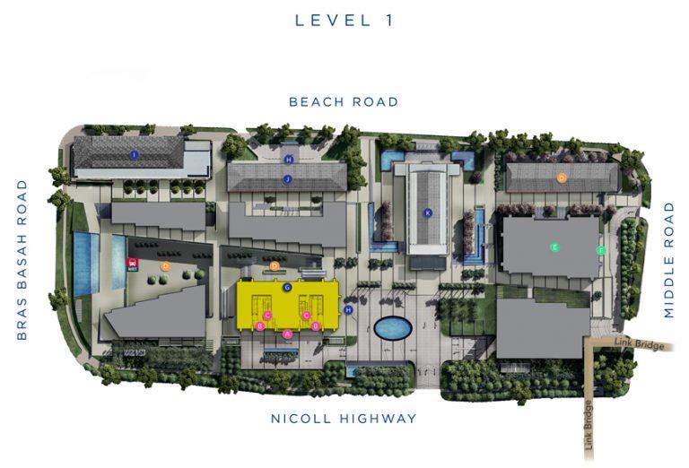 Site-Plan-of-South-Beach-Residences