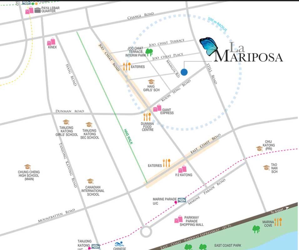 la_mariposa-location