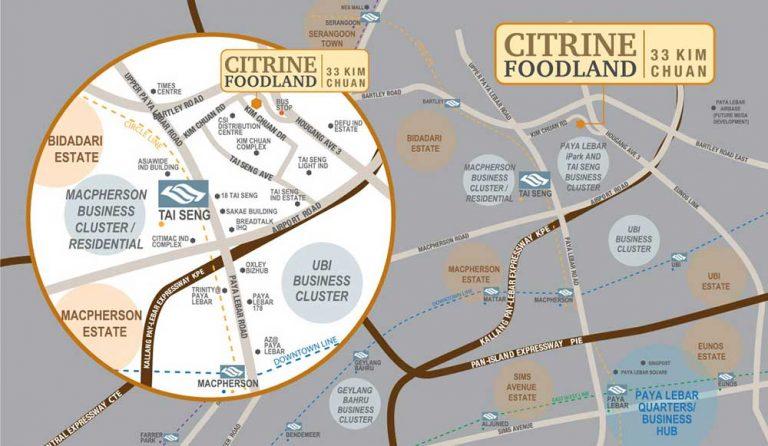 citrine-Foodland-map