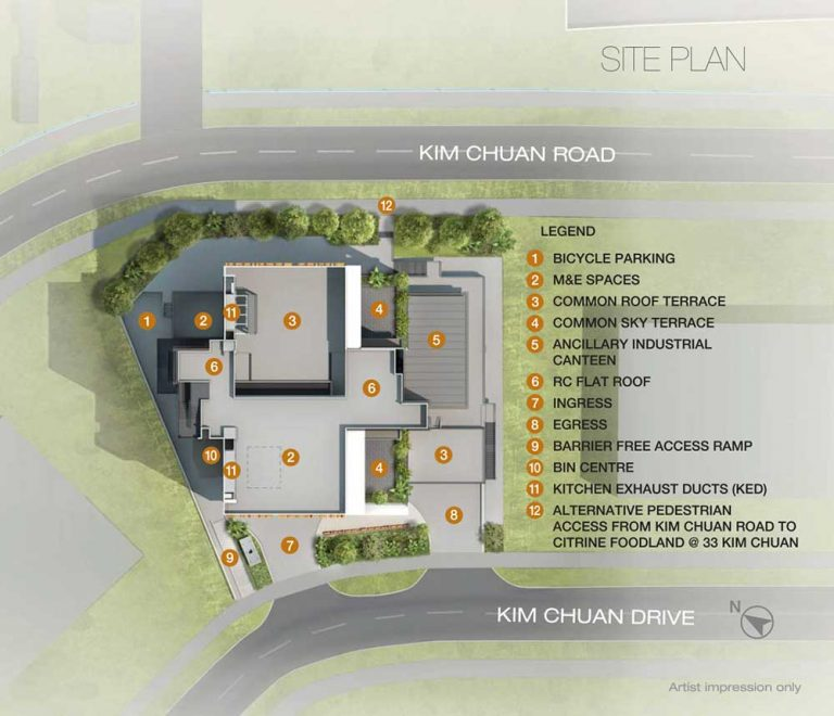 citrine-Foodland-site-plan