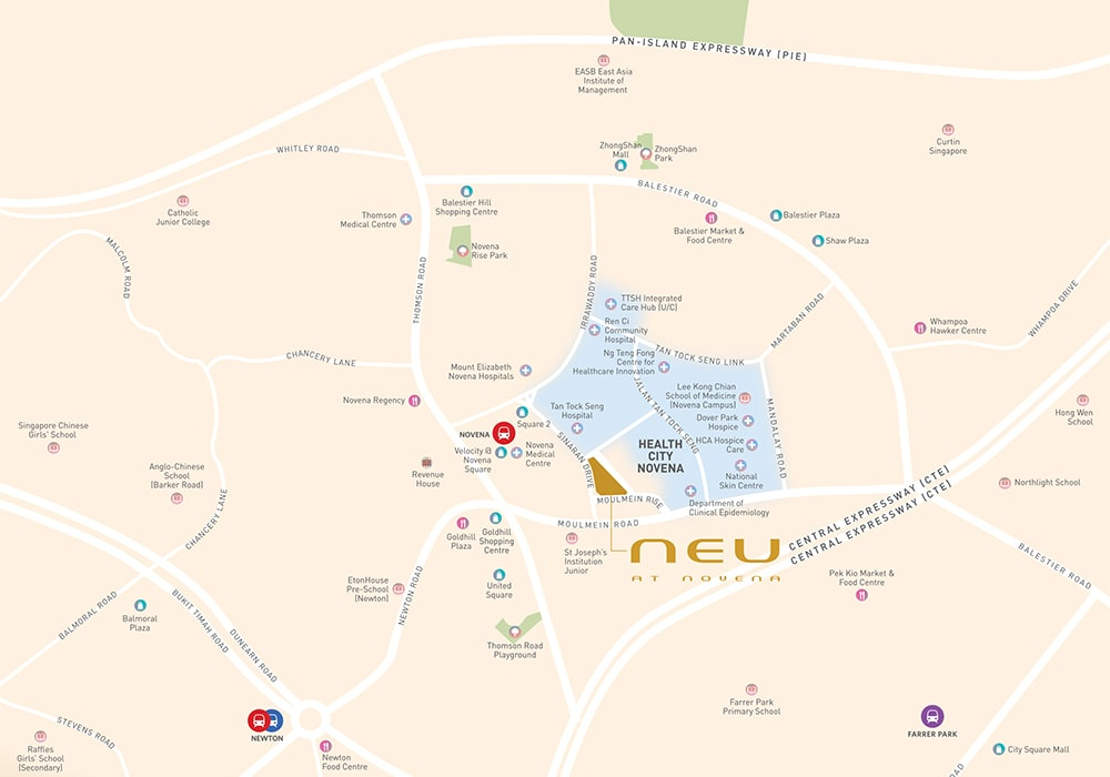 neu-at-novena-location-map